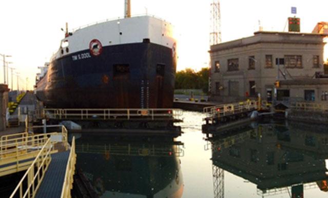 Lock 7 Welland Canal Seaway
